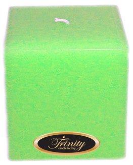 Trinity Candle工場 – Frangipani – Pillar Candle – 正方形 – 4 x 4 B0030B4VE2