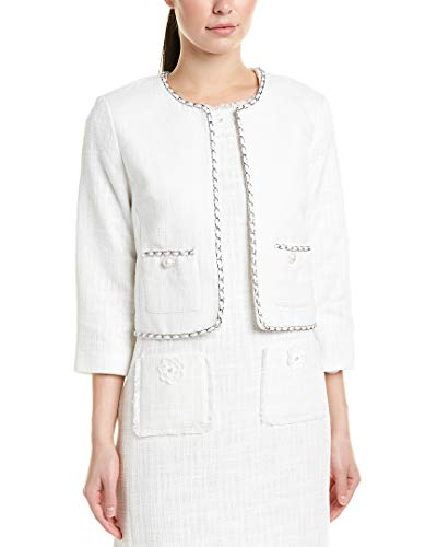 - Karl Lagerfeld Womens Jacket, L, White