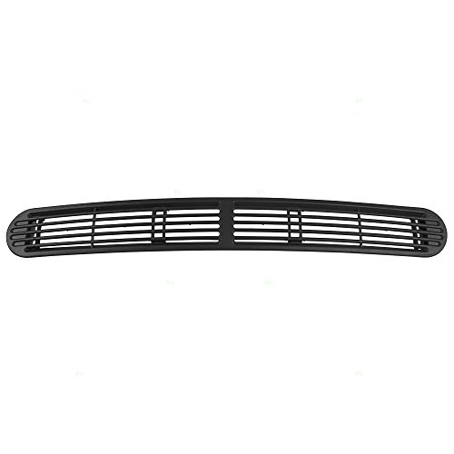 Dark Gray Graphite Dash Defrost Vent Cover Grille Panel Replacement for Chevrolet GMC Oldsmobile SUV Pickup Truck (Gmc Truck Grilles)