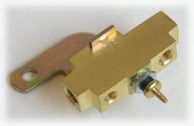 Compatible With 1970-1972 Disc Drum Brake Proportioning Distribution Brass Block Valve W30 GS GTO ()