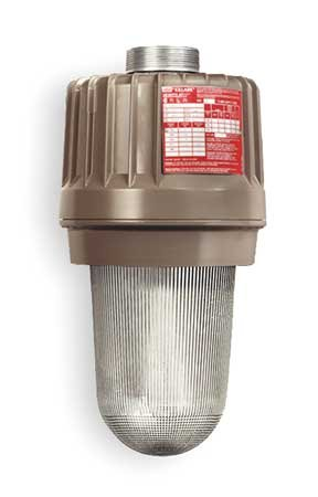 Killark EZS250 High Pressure Sodium Light Fixture, S50, 250W, Copper-Free Aluminum, 11-1/4'' x 11-1/4'' x 22-1/4'', Tan