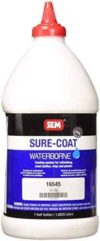 SEM 16545 White Sure-Coat – 0.5 Gallon