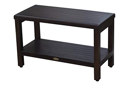 Decoteak Eleganto Shower Bench, 30