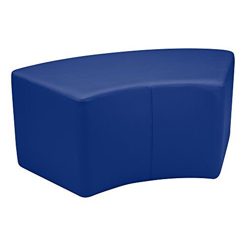 Vinyl Seating - Sprogs Vinyl Soft Seating Curved Stool/Bench, 18