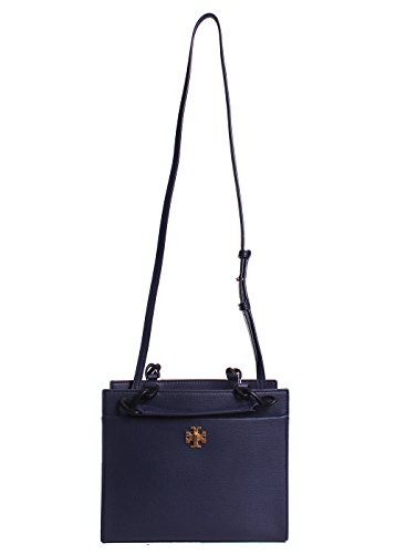 Tory Burch borsa donna a mano shopping in pelle nuova kira blu