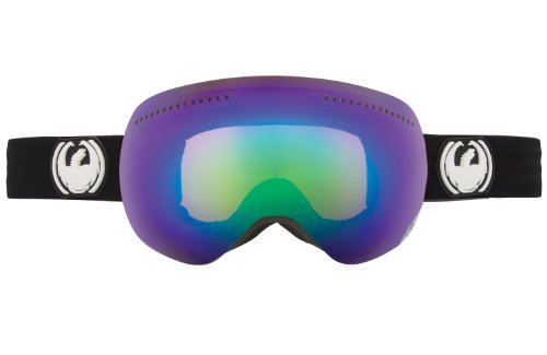 Dragon Alliance Advanced Project X Ski Goggles, Coal/Red Ionized