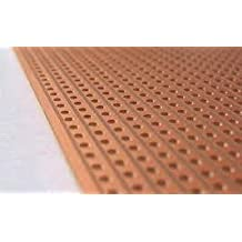 "Pack of 2 Prototype Universal Stripboard 3""x10"" (76x254mm) 3000hole Epoxy Fiber"