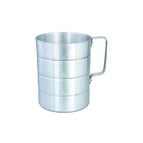 Browne 1 qt Aluminum Dry Measuring Cup