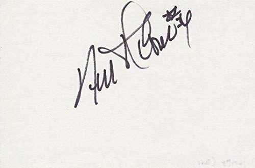 Autographed 3x5 inch Card - Guaranteed to pass - JSA Certified - NBA Cut Signatures ()