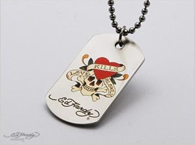 Ed Hardy Dog tag (Ed Hardy Dog Tag)