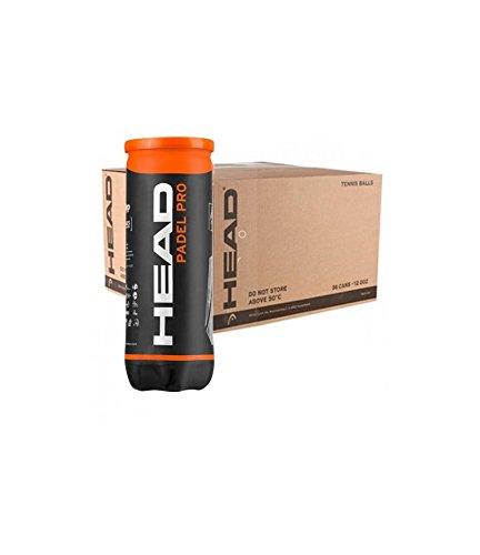 Top Spin Head Pro - Cartón de pádel (24 Tubos, 3 Bolas): Amazon.es ...