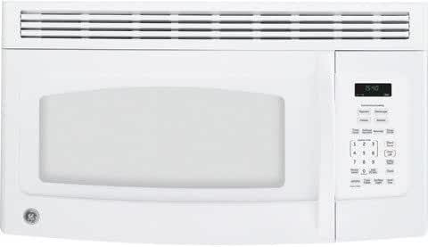 GE JNM1541DMWW 1.5 Cu. Ft. White Over-the-Range Microwave