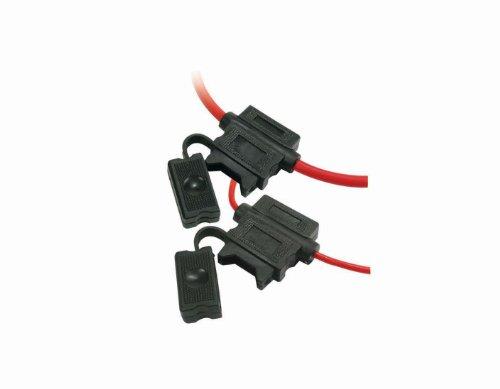 Scosche 0400ATCFH16-5 ATC Fuse Holder 16 Gauge 5 Pack