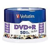 Verbatim Life Series DVD+R Spindle, Pack Of 50 97174