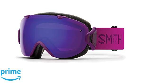 7fce64492b Amazon.com   Smith Optics I Os - Asian Fit Adult Snow Goggles - Monarch  Chromapop Everyday Violet Mirror   Sports   Outdoors