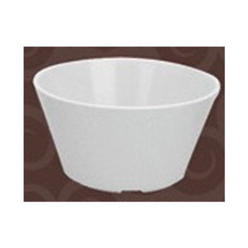 Yanco Nessico Collection Melamine 3 7/8, 8OZ BOUILLON CUP WHITE Box of 48 NS-302W