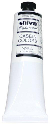Jack Richeson 120532 Artist Casein Colors, 150-Milileter, Titanium White