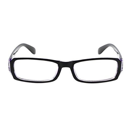 la métallique pour Femme À myopie Plein de Bleu Noir Rectangle Lentille de lunettes MUCHAO Verres mâle résine cadre Des mode la Vintage cadre qA0twfR