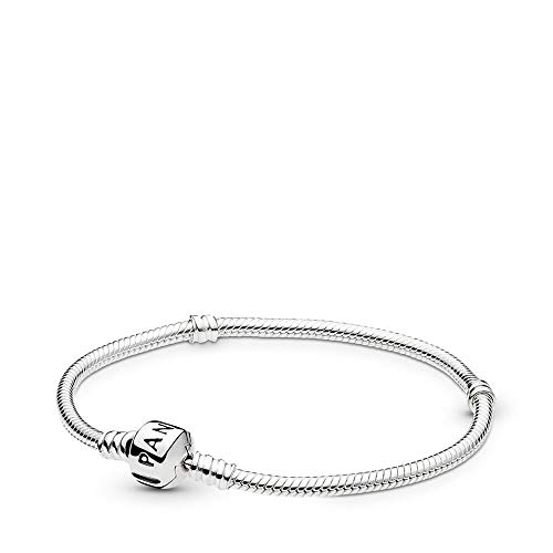 Pandora Iconic Silver Charm Bracelet, Sterling Silver, 7.1 in