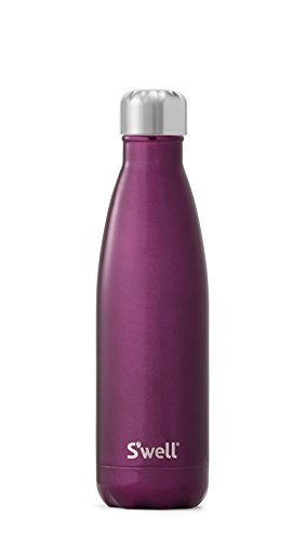 Swell GLSA-17-B16 FBA_COMINHKG100697 Vacuum Insulated Stainless Steel Water Bottle, Double Wall, 17 oz, Sangria