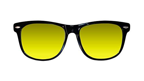 Homme Skyfield Noir taille de Jaune soleil Lunettes Sunglasses unique TxIrwAIY