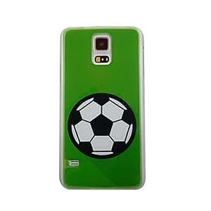 Patrón Fútbol Hermosa PC de nuevo caso para Samsung S5/I9600