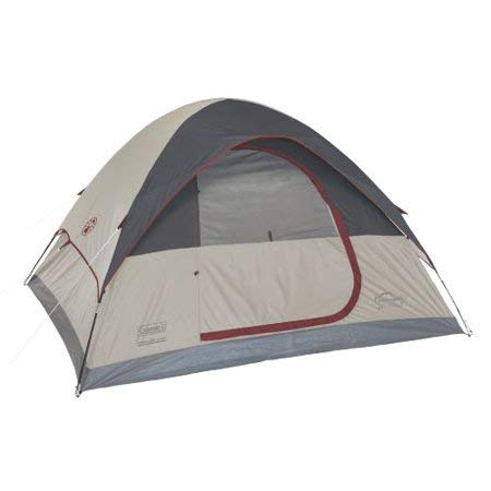Coleman Highline 4-Person Dome Tent, 9 x 7 by
