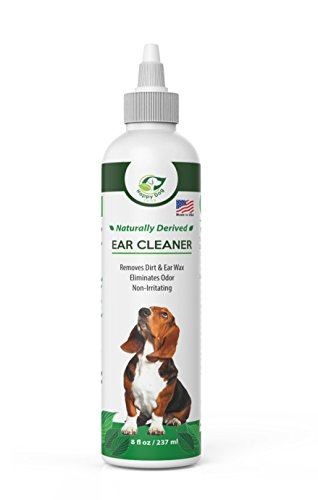 [Dog Ear Cleaning Solution - Removes Dirt, Ear Wax and Odor – Great For Itchy Dog Ears – All Natural Dog Ear Wash – Soothing & Effective Pet Ear Cleaner] (Ear Cleaning Solution)