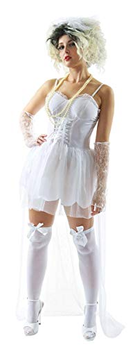 80s Pop Bride Costume - Large