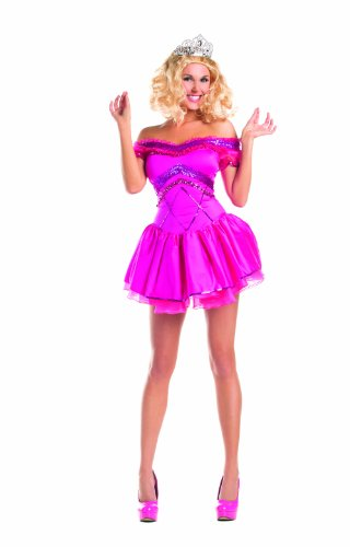 Party King Women's Redneck Pagent Princess Costume, Fuchsia, Large]()