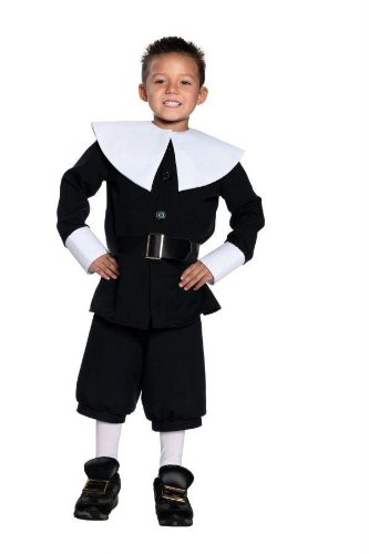 Costumes For All Occasions Ur26946Xl Pilgrim Boy Extra Large