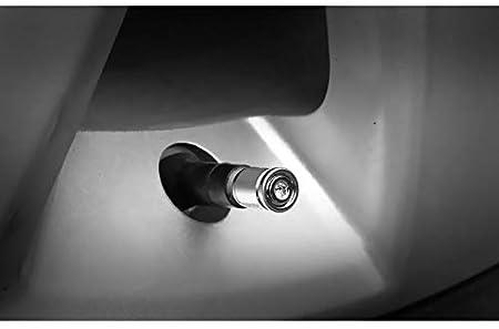 bicicletas SUV VALVE CAP HOME 4 piezas con llave Tapas de v/ástago de v/álvula de neum/ático de aluminio con junta Reemplazo de cubiertas de v/álvula universal for autom/óviles motocicletas  Sello de al