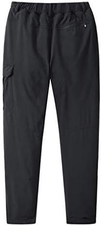 メンズ防水防風登山は取り外し可能なロングパンツのズボンを厚くする