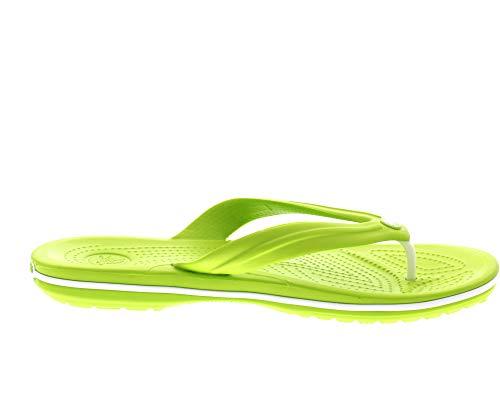 Flip Sacrocs Crocs Adulto 394 Crocband volt Grün white Sandali U Green Unisex ZH4fa4R