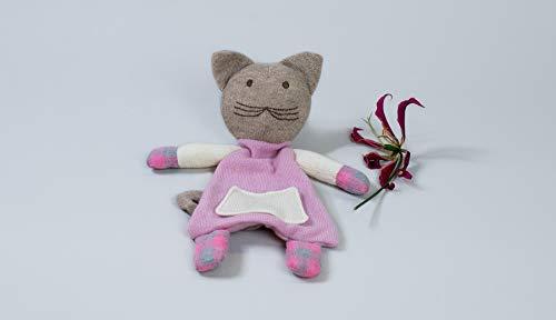 10 to 12 LLC Kiwi The Cat Cashmere Plush ()