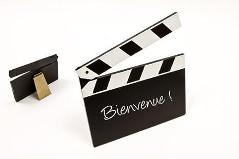 Tarjeta de nombre para mesa y regalo Mini Film para cine y ...