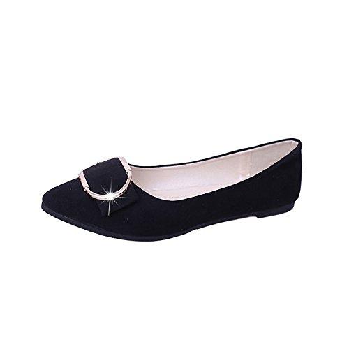 tacco 39 tacco scarpe basso piatte scarpe 1 Donyyyy yards Top singolo BWx0f8n