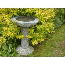 Robinswood Stone Black Marble Birdbath DELIVERY EXCEPTIONS