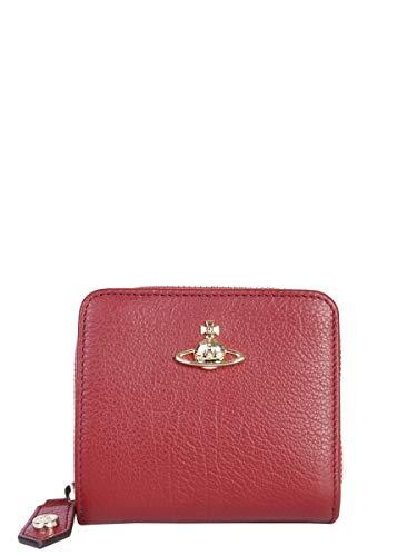 Vivienne Westwood Women's 5108002040212I401 Burgundy Leather Wallet