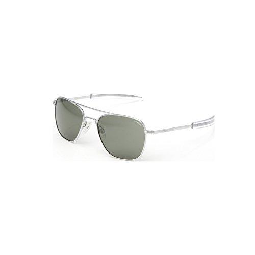39046789ae98 60%OFF Randolph Engineering Aviator Matte Chrome Sunglasses - AGX Polarized  PC Bayonet 55MM