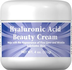 Fierté hyaluronique Puritan Beauté Acid Cream-4 oz Cream