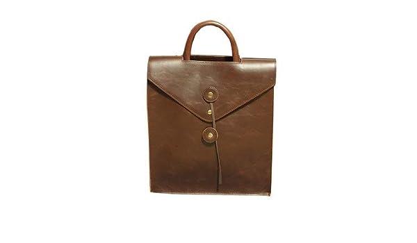 Amazon.com: 2016 Envelope Backpacks Men Leather Bag Black Mens Travel Bags School for mochilas B01: Kitchen & Dining