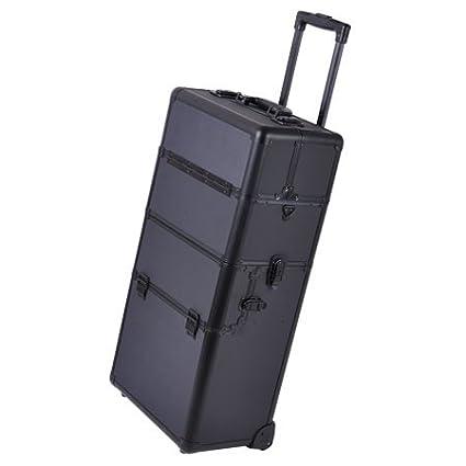 Amazon.com: all-black aluminio Rolling Lockable de ...