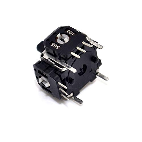 1pcs Small Joystick Potentiometer with hat Game Aircraft Model Joystick 10K Automatic Reset