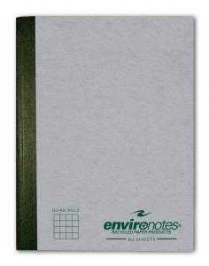 Bulk Recycled Composition Books, 9.75''x7.5'', 5x5 Graph Ruled, 80 Sheets: Roaring Spring 77271 (24 Graph Composition Books)
