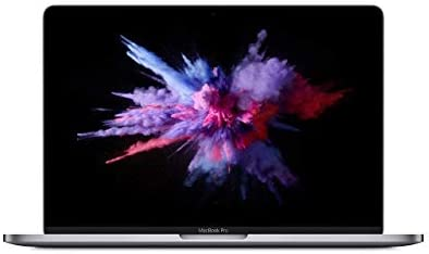 Apple 13.3″ MacBook Pro with Touch Bar, Intel Core i5 Quad-Core, 8GB RAM, 128GB SSD – Mid 2019, Space Gray, MUHN2LL/A (Renewed)
