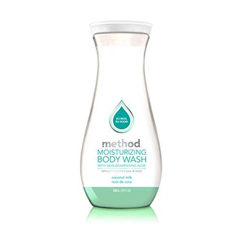 Method Moisturizing Body Wash, Coconut Milk, 18 Ounce (6 Count)