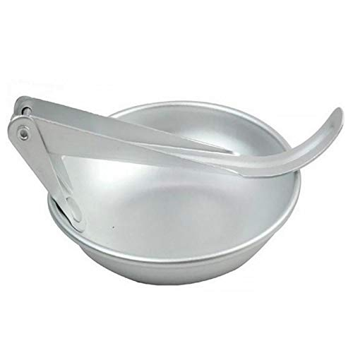 Fiesta Outdoor Tableware Foldable Soup Ladle for Camping Abrasion-resistant Aluminum Alloy Folding Spoon Portable Cooking Utensils