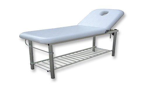 Solid Massage Bed w / Metal Frame & towel holder