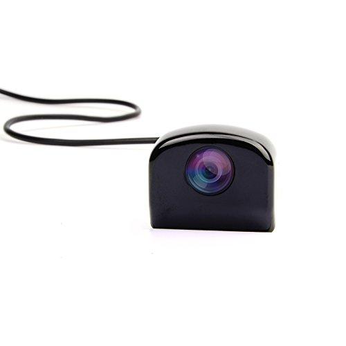 Cheap Backup Camera, Airysee AS-209B Mini Hidden Solid Zinc Vehicle Car Parking Backup Camera Kit for Car Head Unit DVD Player Car Monitors -Multiple Model Switchers Built-in -Black
